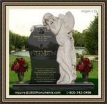 Angel Headstone 139