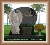 Angel Headstone 145