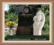 Angel Headstone 147