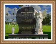 Angel Headstone 149