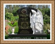 Angel Headstone 150