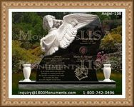 Angel Headstone 158