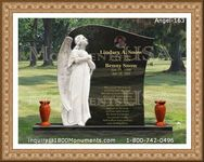 Angel Headstone 163