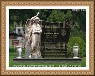 Angel Headstone 165