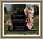 Angel Headstone 179