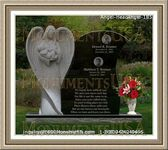 Angel Headstone 185