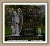 Angel Headstone 187