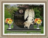 Angel Headstone 200