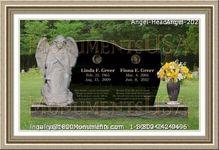 Angel Headstone 202