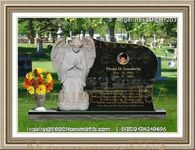 Angel Headstone 203