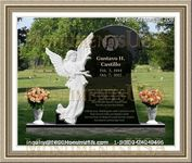 Angel Headstone 208