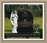 Angel Headstone 214
