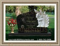 Angel Headstone 218