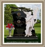 Angel Headstone 219