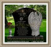 Angel Headstone 231