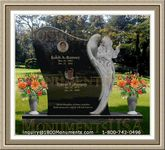 Angel Headstone 238
