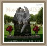 Angel Headstone 241
