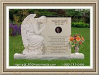 Angel Headstone 243