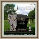 Angel Headstone 244
